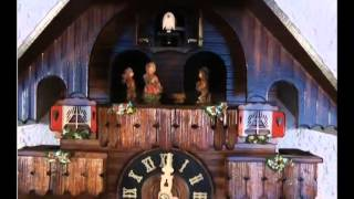 Tu 442 Qmt Quartz Musical Man Chopping Wood Cuckoo Clock