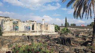 Izrael 2019: Masada, Dead see, Jordan river, Kafarnaum, Galilee lake, Decapolis
