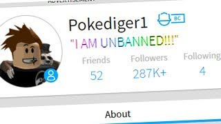 I AM FINALLY UNBANNED FROM ROBLOX! *SURPRISE*