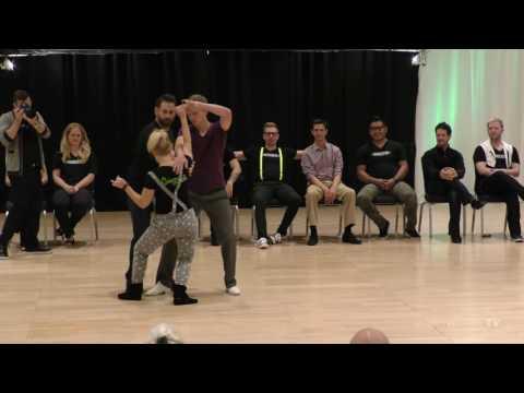 2016 Swingtacular Three for All 1st Place - Sarah Vann Drake and Ryan Crutcher and Austin Kois
