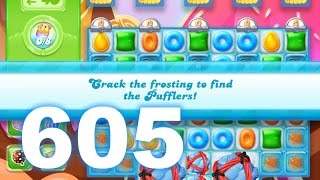 Candy Crush Jelly Saga Level 605 (3 star, No boosters)
