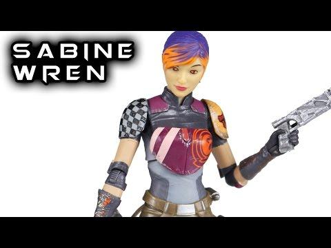 star wars black series 6 inch custom sabine wren/'s darksaber
