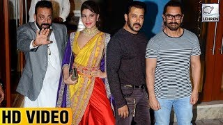 Download lagu Sanjay Dutt s Diwali Party 2017 FULL VIDEO Salman Khan Aamir Khan LehrenTV MP3