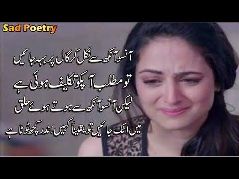 Sad Love Heart Touching 2 Line Poetry 💔 | 2 Line Sad Poetry 💘| Farooq Khan | Best Urdu Poetry 2019