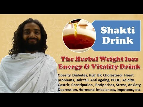 Shakti Drink | The Herbal Weight Loss Energy & Vitality Tea at Home By Yoginitya