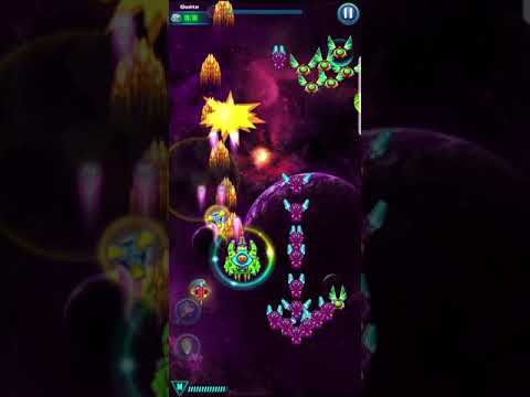 [New Booster] Level 118 GALAXY ATTACK: ALIEN SHOOTER | Best Relax Game Mobile | Arcade Space Shoot
