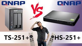 the qnap hs 251 versus the qnap ts 251 quiet home nas comparison