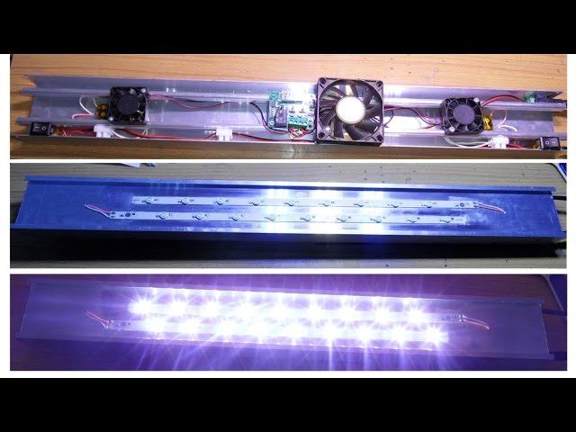 Brico acuarioLampara de acuario 8000K 54W Iluminación casera de LEDPantalla LED de para 54RLAj