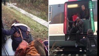 Les voyageurs du RER B descendent sur les voies après une panne