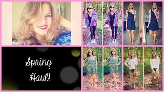 ♡ Spring Clothing and Jewlery Haul & Try On! ♡ Thumbnail