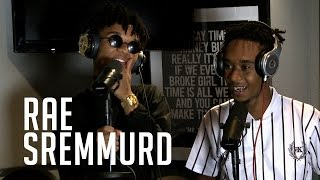 Rae Sremmurd buggin at Ebro in the morning.. They curved the freestyle!