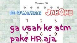 Gak Perlu ke ATM Buat Daftar M-Banking Bank DKI JakONE