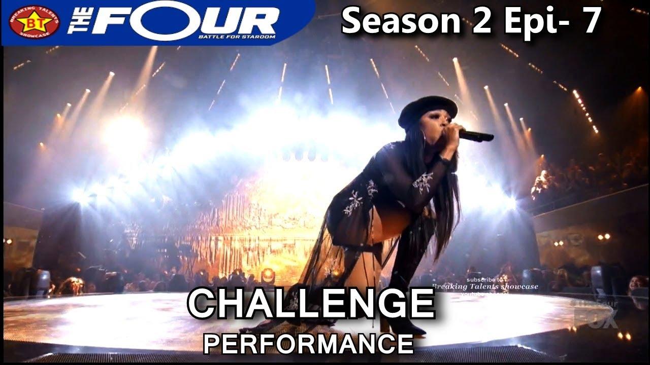"Download Carvena Jones sings ""Feeling Good"" Challenge Performance The Four Season 2 Ep. 7 S2E7"