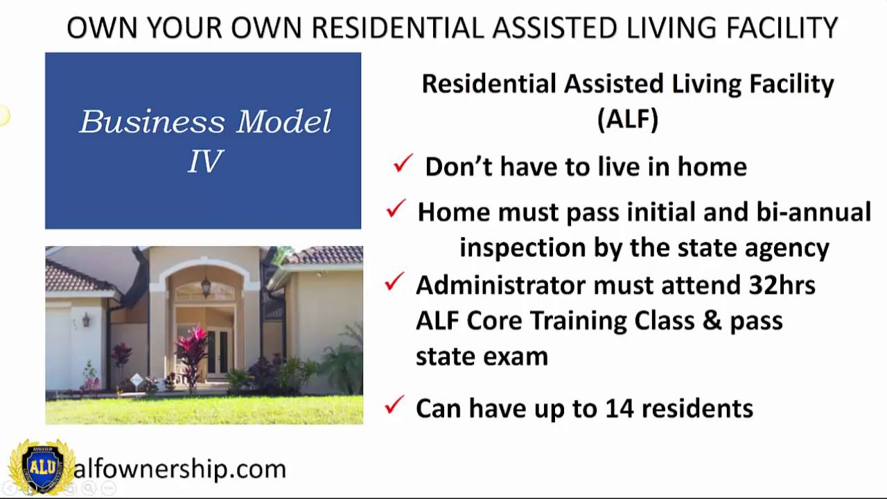How to Start an Assisted-Living Facility