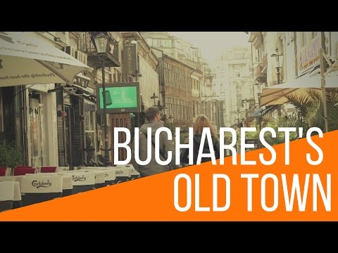 Bucharest's Old Town  | Discover Romania |  Ep. 2 | Rent For Comfort Agency