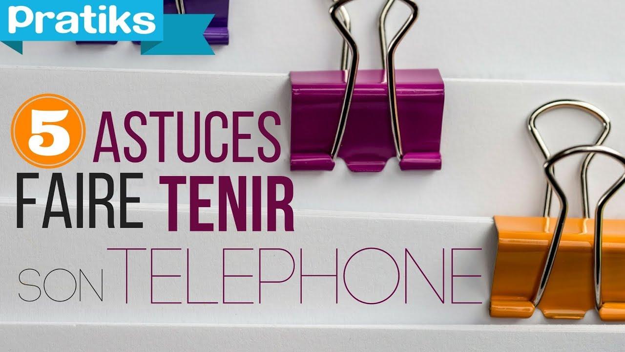 5 Astuces Pour Faire Tenir Son Smartphone Avec Des Pinces Notes