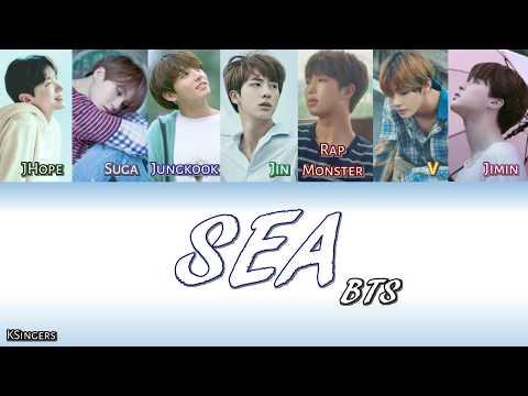 BTS - Sea (Hidden Track) | Sub (Han - Rom - English) Color Coded Lyrics
