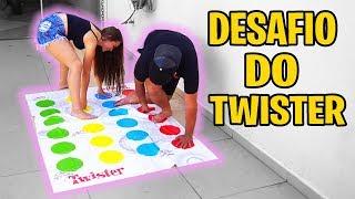 Deu Ruim No Desafio Do Twister Com Minha Amiga