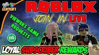 🔥 ROBLOX LIVE 🔥 Playing JAILBREAK With Fans 💎Subscriber Loyalty Rewards 💙 (1-12-18)