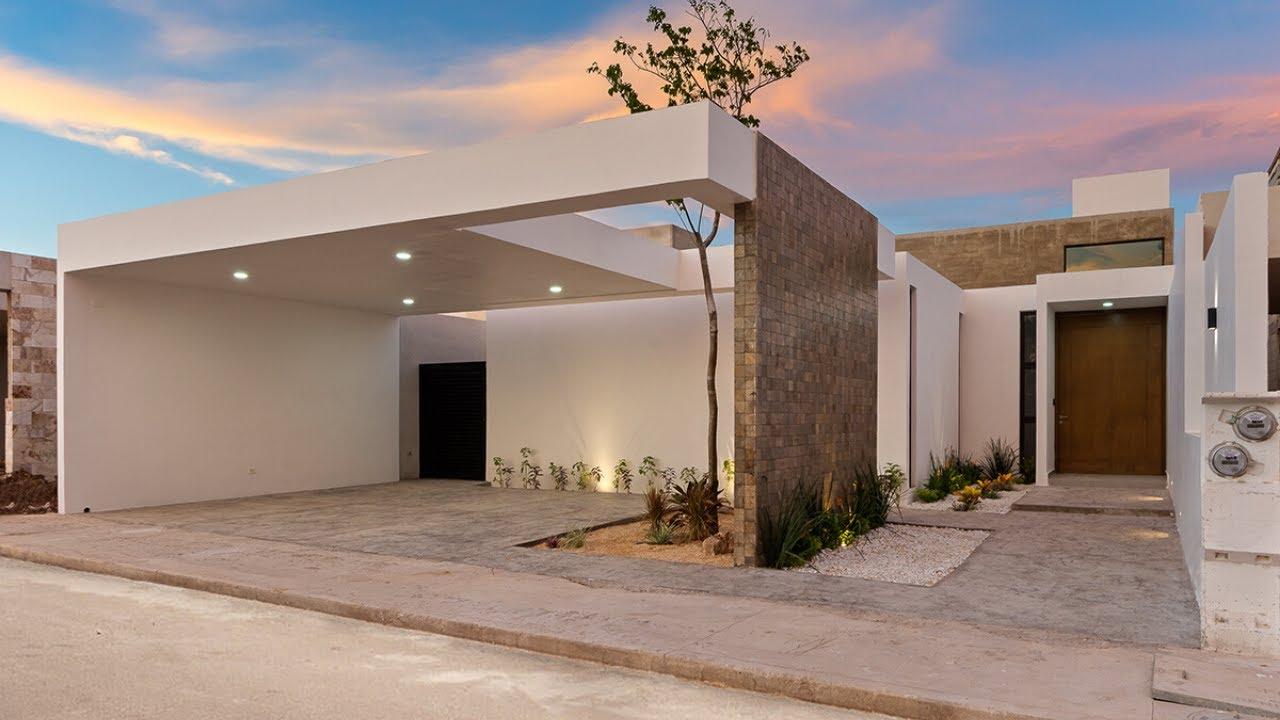 Casa De Una Planta Con Piscina En Venta En Dzitya Mérida Yucatán Youtube