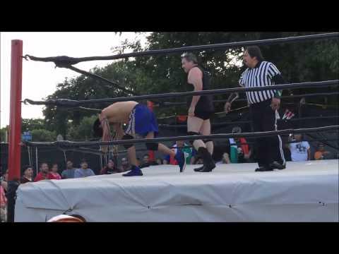 Niño de Oro vs Bobby Garrett Wrestling Match
