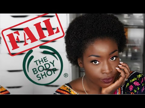 THE BODY SHOP Hates Black People And Black Hair