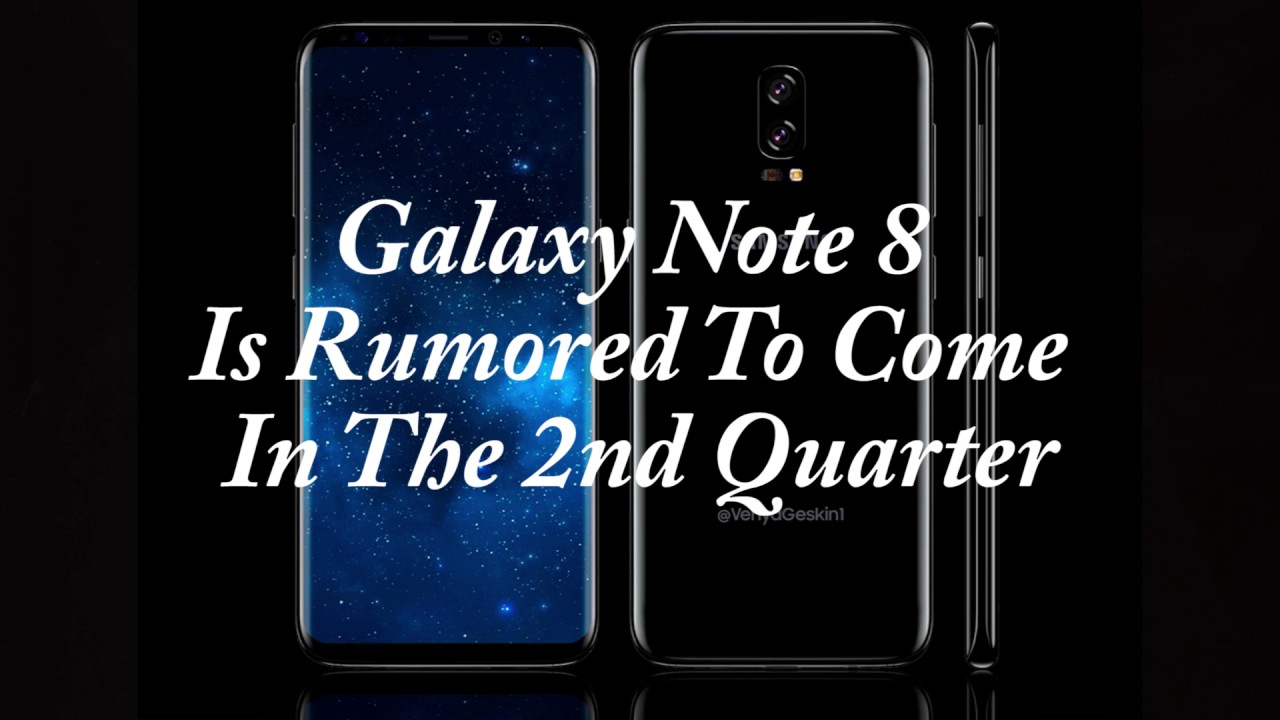 Samsung Galaxy Note 8 Passes Through The FCC