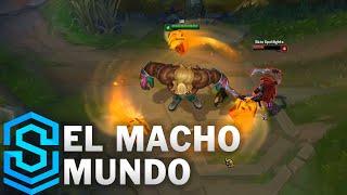 El Macho Mundo Skin Spotlight - Pre-Release - League of Legends