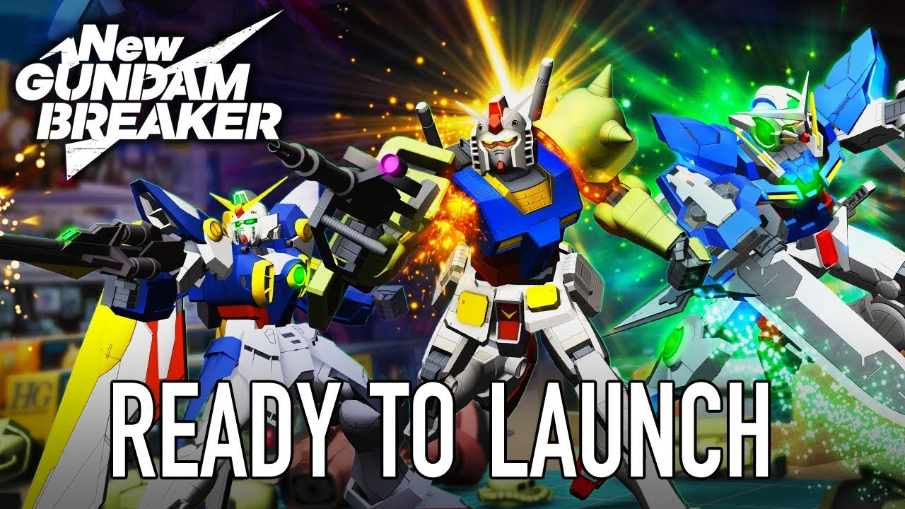 New Gundam Breaker' Is Finally Released But Japanese Fans