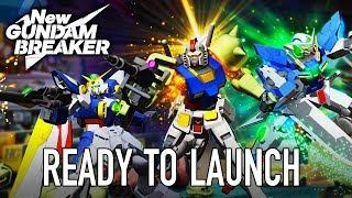 New Gundam Breaker - PS4/PC -  Ready to launch (Release trailer)