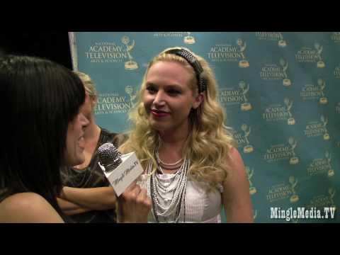 Adrienne Frantz 37th Annual Daytime Creative Arts & Entertainment Emmy Awards