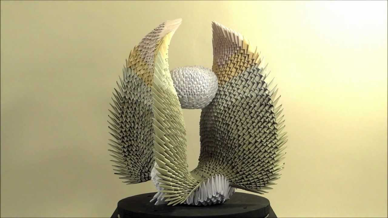 Phoenix Contemporary Paper Sculpture By Francene Levinson Youtube