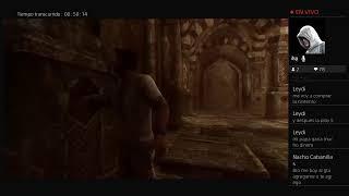 Jugando a uncharted 3
