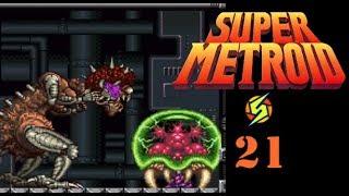 SUPER METROID #21 FINALE Mother Brain und die Metroid Larve [Blind/Let