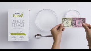 Amway Home All Fabric Bleach Removes Stains Without Fading Color | Amway