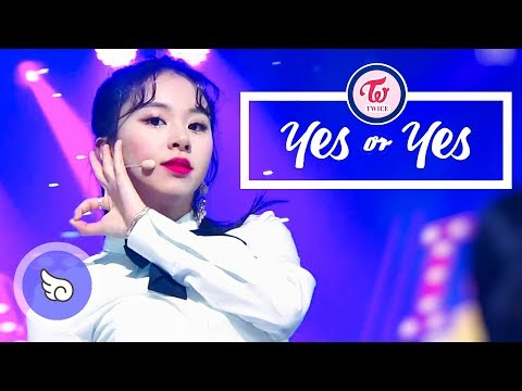[181123~181128] 트와이스(TWICE) - YES or YES / 교차편집(stage mix)