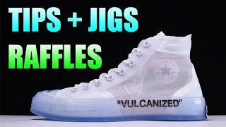 Tips For Copping The OFF WHITE CONVERSE CHUCK TAYLOR ! RAFFLES + Updates For The OFF WHITE CONVERSE