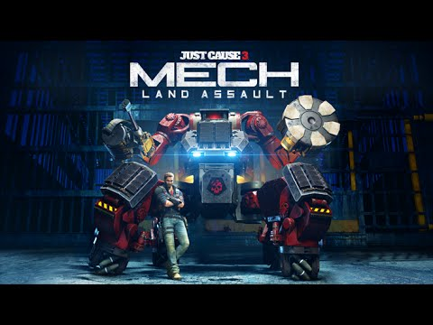 JC3 Mech Anime Trailer