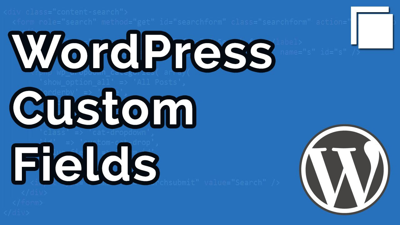 How to Create Custom Fields in WordPress without Plugins Tutorial