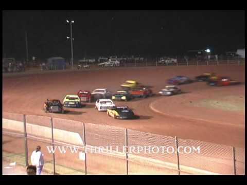 Lawton Speedway 8-29-09 Highlights