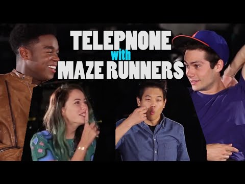 Telephone Challenge (ft. MAZE RUNNER: The Scorch Trials)