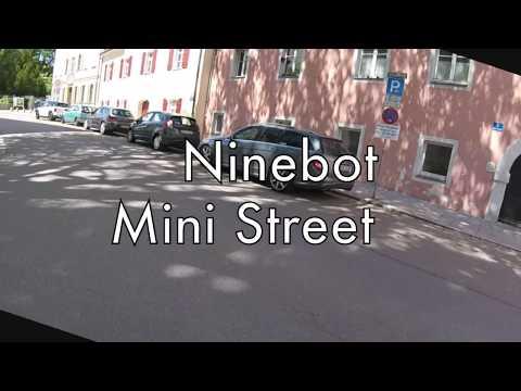 Ninebot Mini Street 320 - Testfahrt durch Regensburg