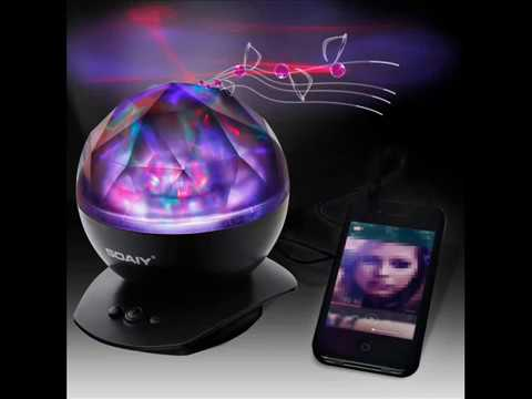 SOAIY Soothing Aurora LED Night Light Projector with Timer - YouTube