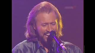 Bee Gees - Night Fever & More Than A Women - 'An Audience With...', ITV Studios London UK 1998 HD