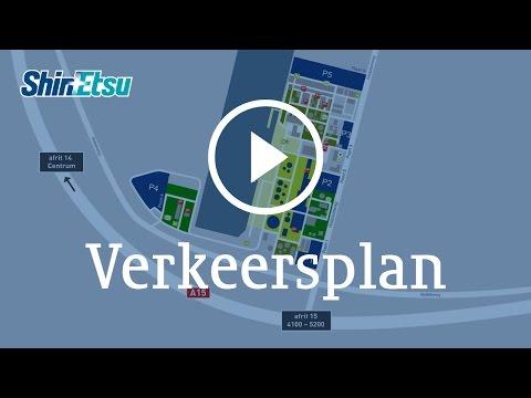 ShinEtsu Botlek Verkeersplan 2017