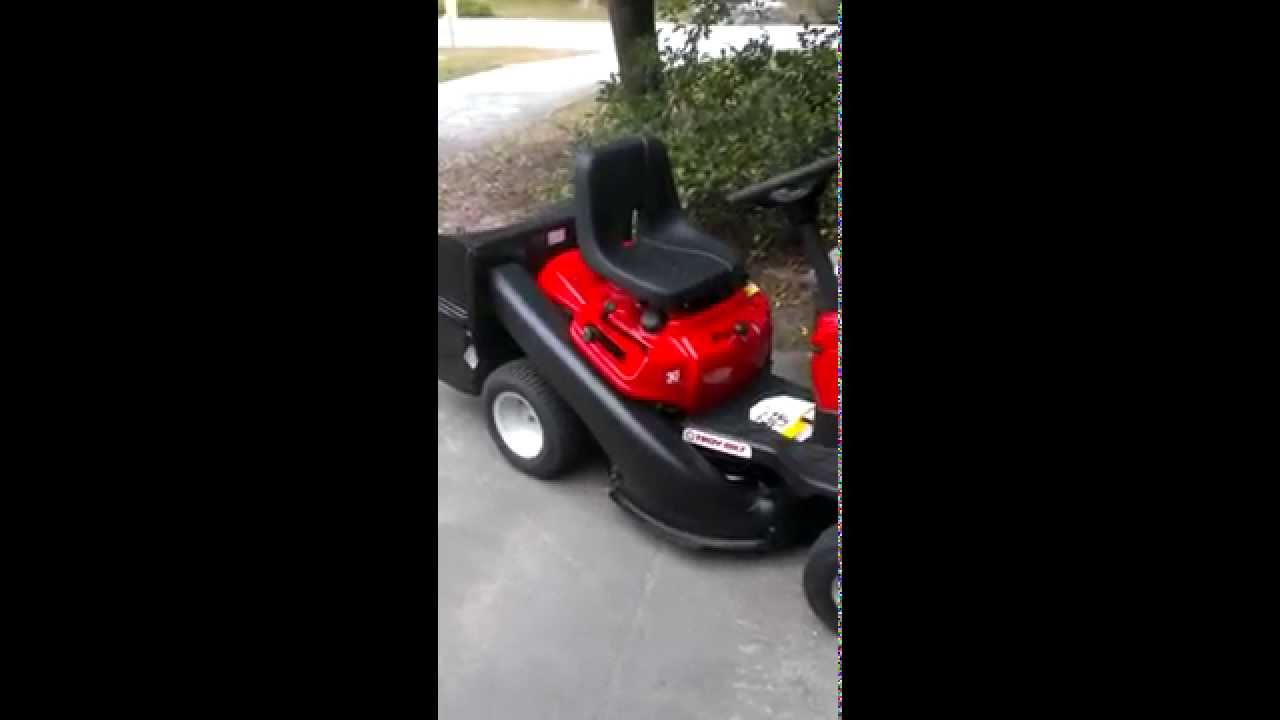 Troy Bilt Tb30r Mower Youtube