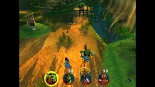 Прохождение Shrek 2: Team Action (часть 1)