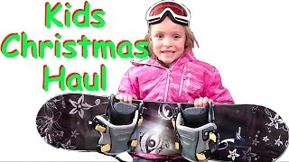 🎁WHAT I GOT FOR CHRISTMAS 2016🎅🏻 | NIKOI 7 YEAR OLD GIRL👧🏽 | KIDS CHRISTMAS HAUL | DYCHES FAM