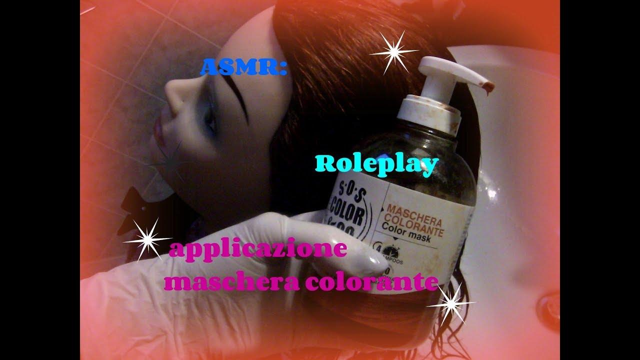 Maschera colorata capelli revlon
