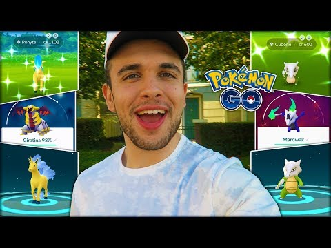 SO MANY NEW SHINY POKÉMON RELEASED! (Pokémon GO)